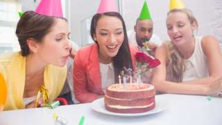 Office cake culture is 'danger to health'